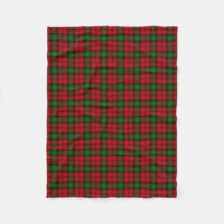 Scottish Clan Kerr Classic Tartan Fleece Blanket