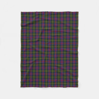 Scottish Clan Logan Classic Tartan Fleece Blanket