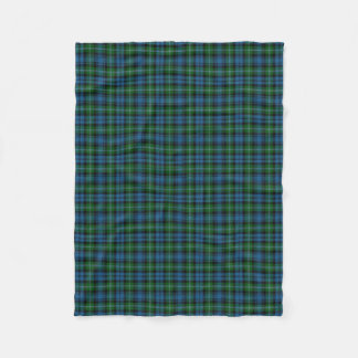 Scottish Clan Lyon Classic Tartan Fleece Blanket