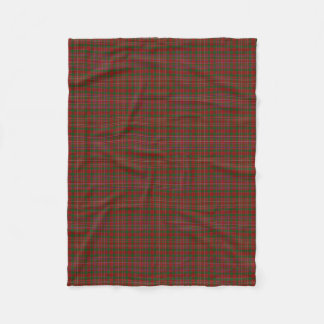 Scottish Clan MacAlister Classic Tartan Fleece Blanket