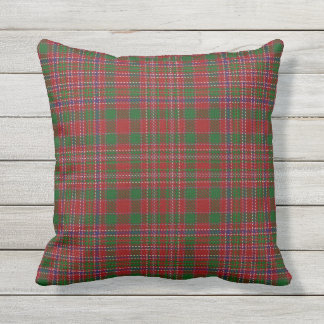 Scottish Clan MacAlister Tartan Cushion