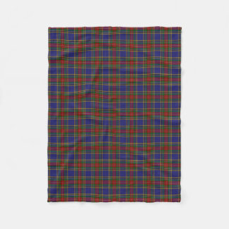 Scottish Clan MacBeth Classic Tartan Fleece Blanket