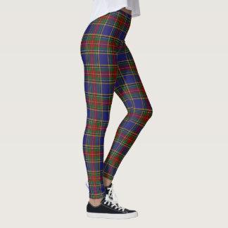 Scottish Clan MacBeth Tartan Leggings