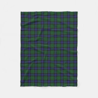 Scottish Clan MacCallum Classic Tartan Fleece Blanket
