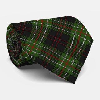 Scottish Clan MacDiarmid Letter M Monogram Tartan Tie