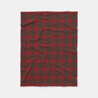 Scottish Clan MacDougall Classic Tartan Fleece Blanket
