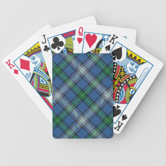 Scottish Clan MacDowall McDowell Tartan Deck Bicycle Playing Cards