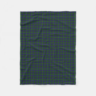 Scottish Clan MacEwen Classic Tartan Fleece Blanket