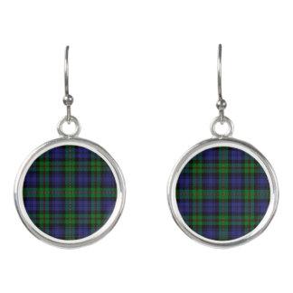 Scottish Clan MacEwen Tartan Plaid Earrings
