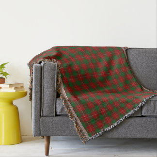 Scottish Clan MacFie Tartan Throw Blanket