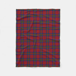 Scottish Clan MacGillivray Classic Tartan Fleece Blanket