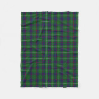 Scottish Clan MacIntyre Classic Tartan Fleece Blanket