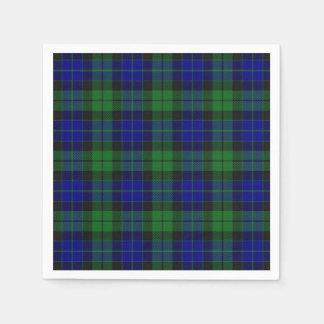 Scottish Clan MacKay Tartan Napkin Paper Serviettes