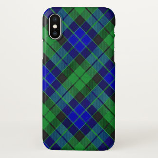 Scottish Clan MacKay Tartan Plaid iPhone X Case
