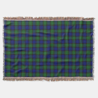 Scottish Clan MacKay Tartan Throw Blanket