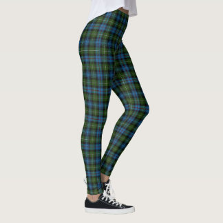 Scottish Clan MacKenzie Tartan Leggings