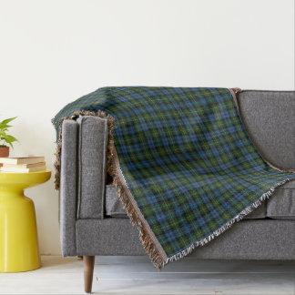 Scottish Clan MacKenzie Tartan Throw Blanket