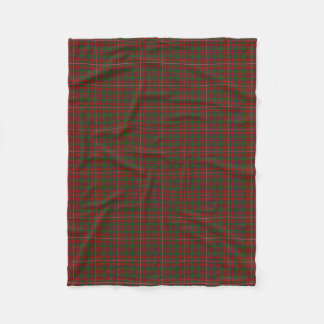 Scottish Clan MacKinnon Classic Tartan Fleece Blanket