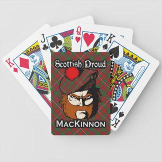 Scottish Clan MacKinnon Tartan Deck Poker Deck