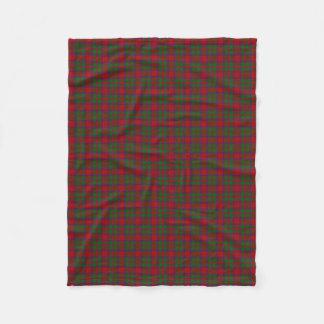 Scottish Clan MacKintosh MacIntosh Classic Tartan Fleece Blanket