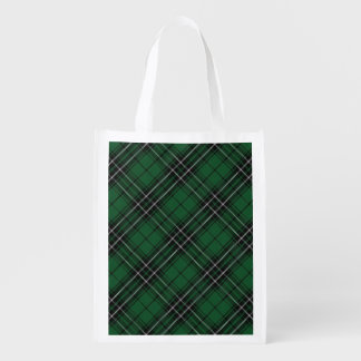 Scottish Clan MacLean Family Tartan Reusable Grocery Bag