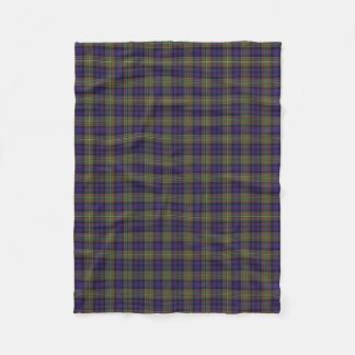Scottish Clan MacLellan Classic Tartan Fleece Blanket