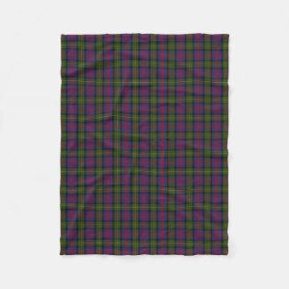 Scottish Clan MacLennan Classic Tartan Fleece Blanket