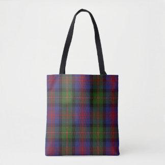 Scottish Clan MacLennan Tartan Plaid Tote Bag