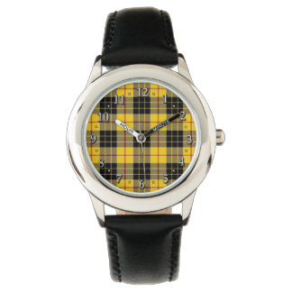 Scottish Clan MacLeod Family Tartan Plaid Watch