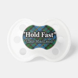 Scottish Clan MacLeod Hold Fast Motto Tartan Dummy