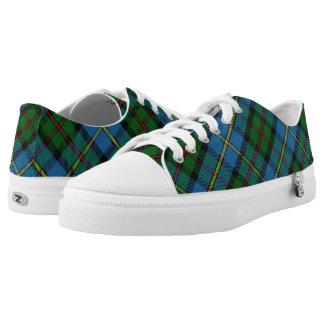 Scottish Clan MacLeod of Harris & Dunvegan Tartan Low Tops