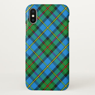 Scottish Clan MacLeod of Harris Tartan Plaid iPhone X Case