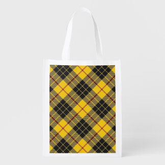 Scottish Clan MacLeod of Lewis Family Tartan Reusable Grocery Bag