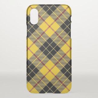 Scottish Clan MacLeod Tartan Plaid iPhone X Case