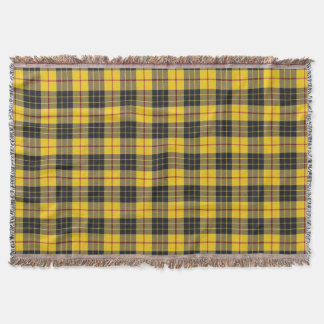Scottish Clan MacLeod Tartan Plaid Throw Blanket