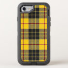 Scottish Clan MacLeod Yellow and Black Tartan OtterBox Defender iPhone 8/7 Case