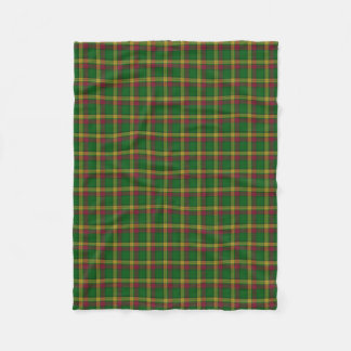 Scottish Clan MacMillan Classic Tartan Fleece Blanket