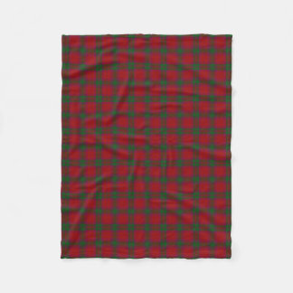 Scottish Clan MacNab Classic Tartan Fleece Blanket
