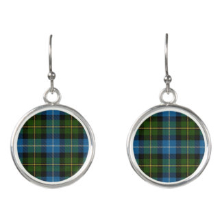 Scottish Clan MacNeil Tartan Plaid Earrings