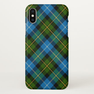 Scottish Clan MacNeil Tartan Plaid iPhone X Case