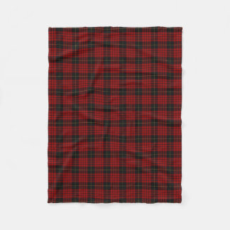 Scottish Clan MacQueen Classic Tartan Fleece Blanket