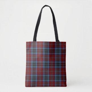 Scottish Clan MacTavish Tartan Plaid Tote Bag