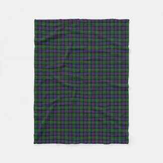 Scottish Clan Malcolm Classic Tartan Fleece Blanket