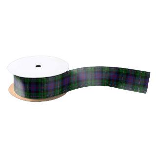 Scottish Clan Malcolm Classic Tartan Satin Ribbon