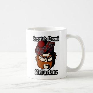 Scottish Clan McFarlane Tartan Scottish Basic White Mug
