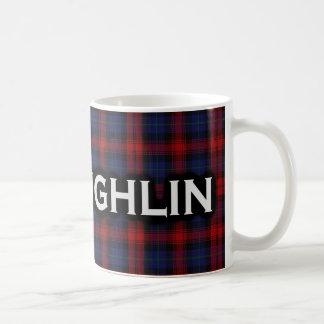 Scottish Clan McLaughlin MacLachlan Tartan Coffee Mug