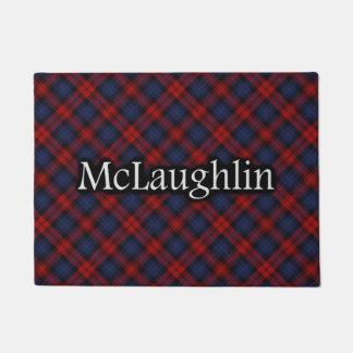 Scottish Clan McLaughlin MacLachlan Tartan Doormat