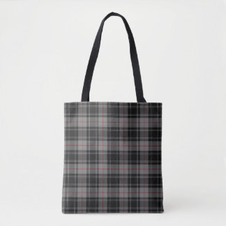 Scottish Clan Moffat Tartan Plaid Tote Bag