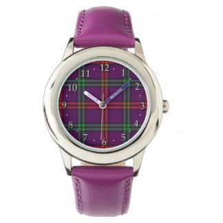Scottish Clan Montgomery Family Tartan Plaid Watch
