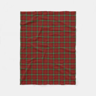 Scottish Clan Morrison Classic Tartan Fleece Blanket